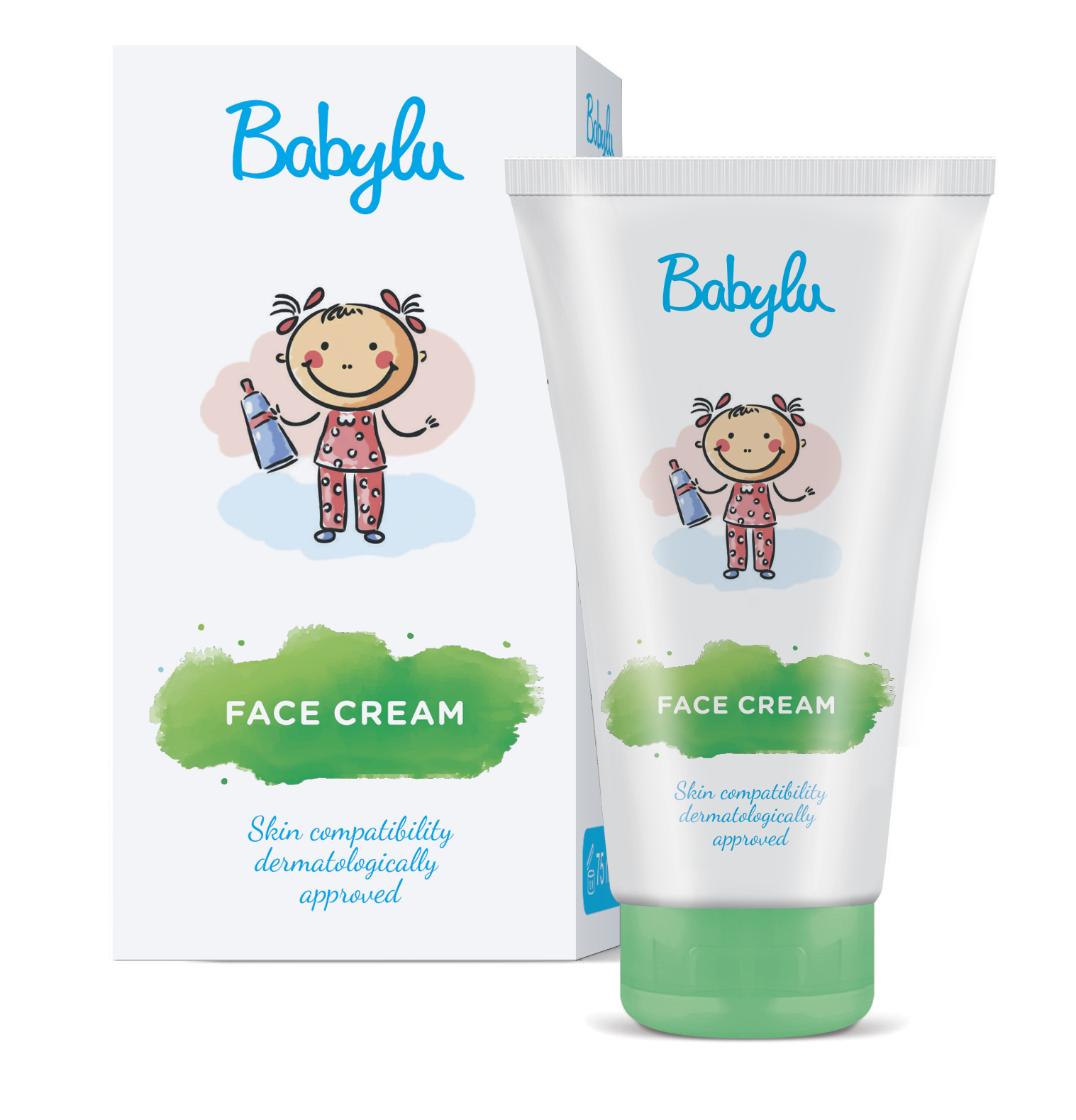 baby face cream containing aloe vera