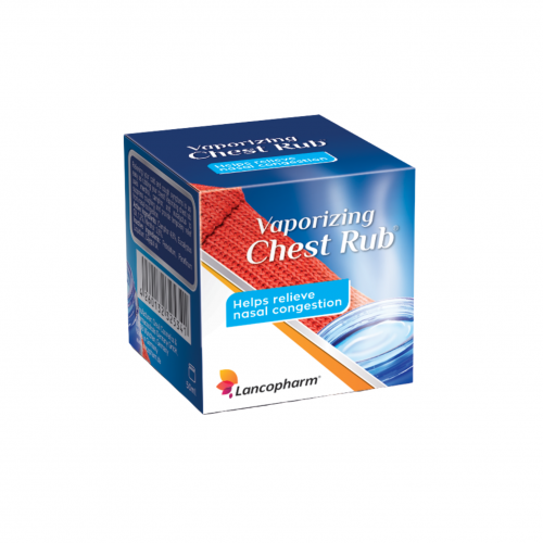 Vaporizing Chest Rub